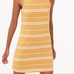 seriously soft yellow and white dress